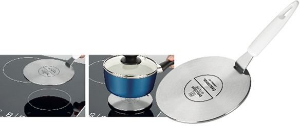 Induction hob pans